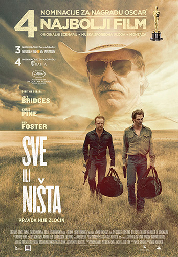Hell Or High Water Poster Croatia